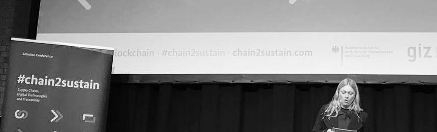 Hosting Chain to Sustain with Blockchain Lab by GIZ and the Federal Ministry for Economic Cooperation and Development