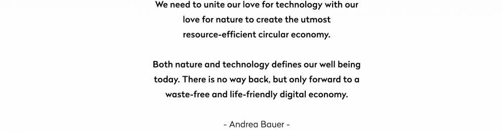 How can we unite our love for technology with our love for nature